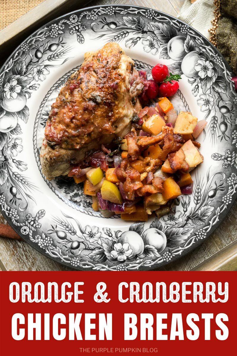 Recipe for Orange & Cranberry Chicken Breasts