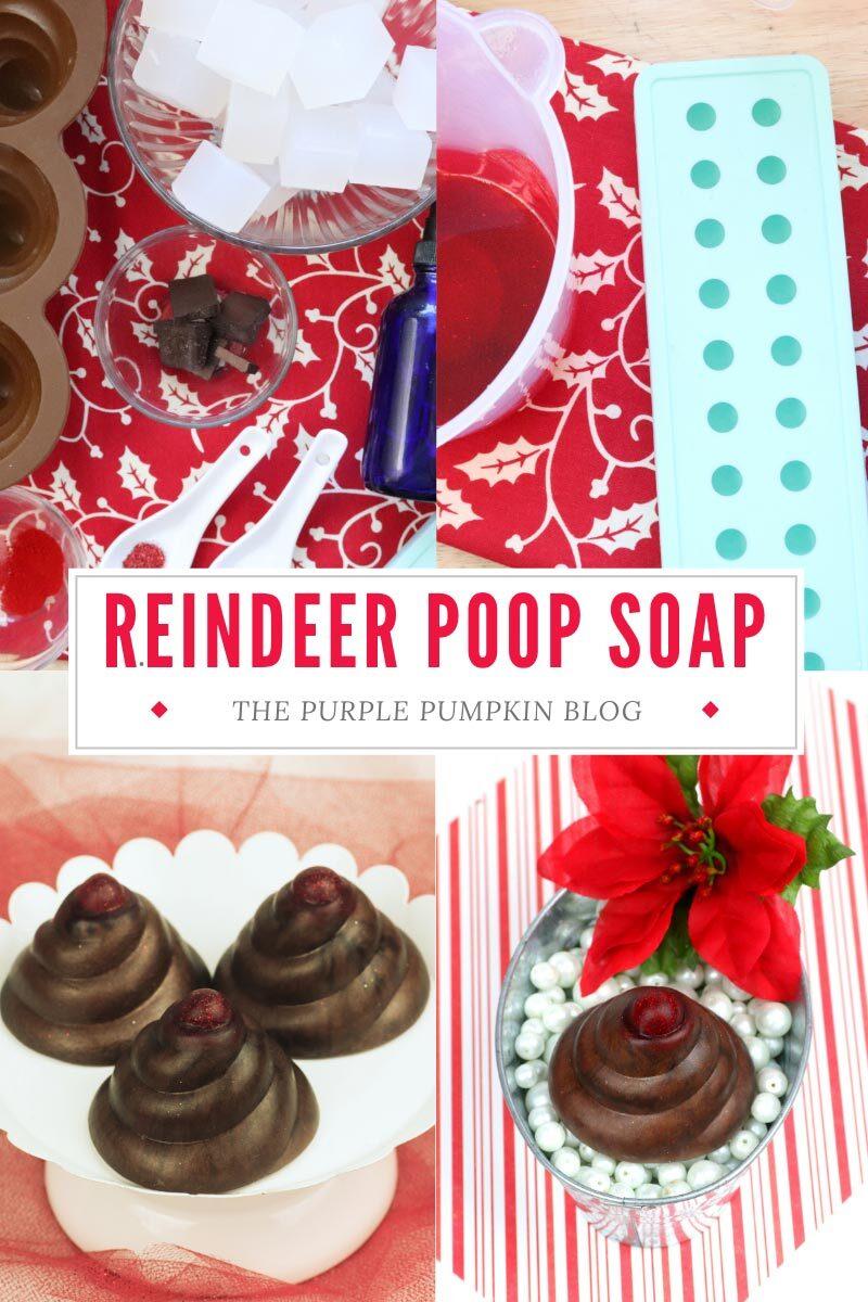 Reindeer Poop Soap