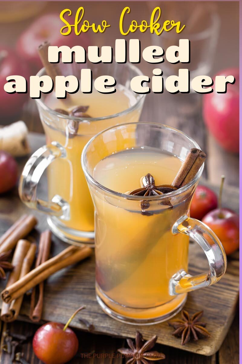 Slow Cooker Mulled Apple Cider