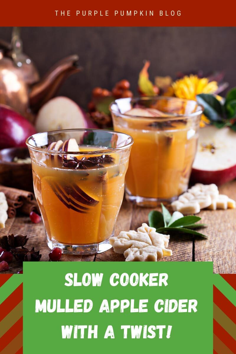 Slow Cooker Mulled Apple Cider with a Twist