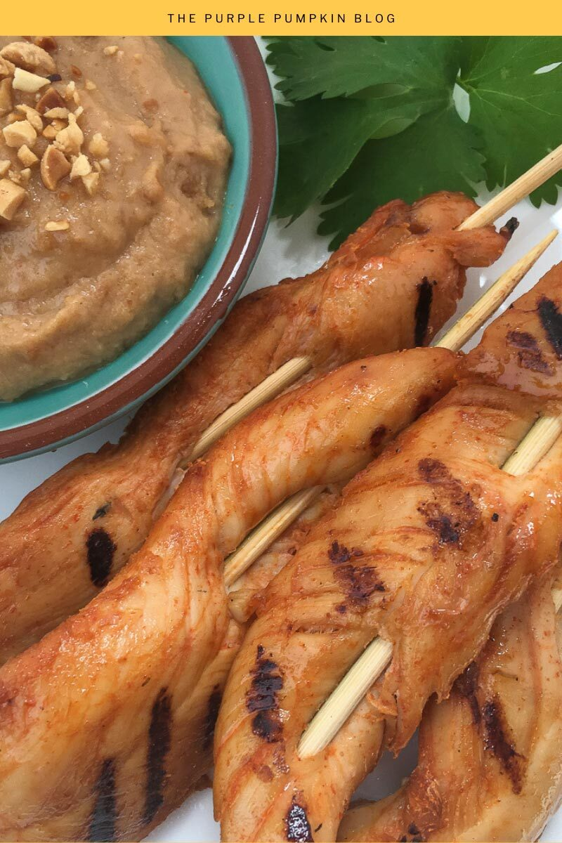Spicy Chicken Satay Recipe