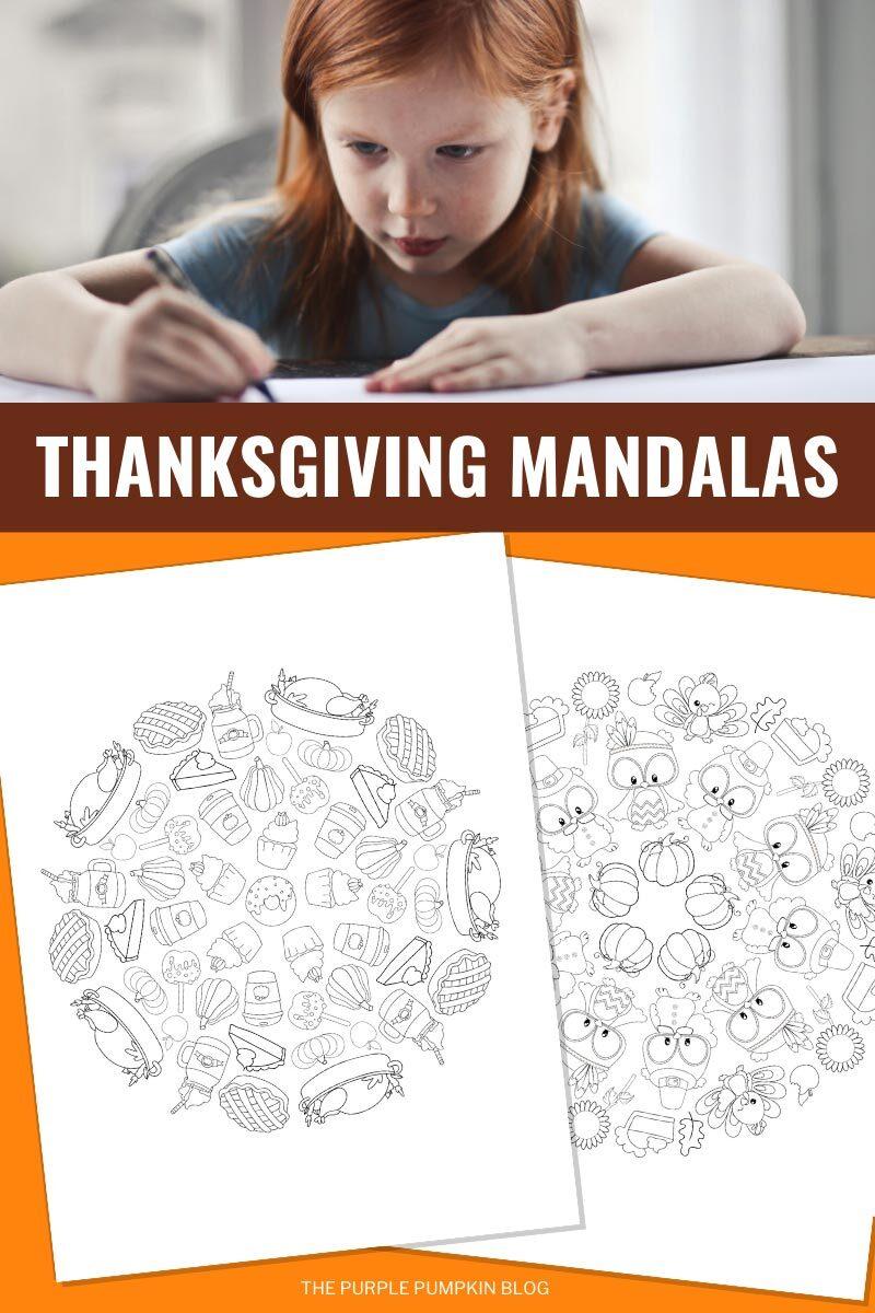 Thanksgiving Mandalas