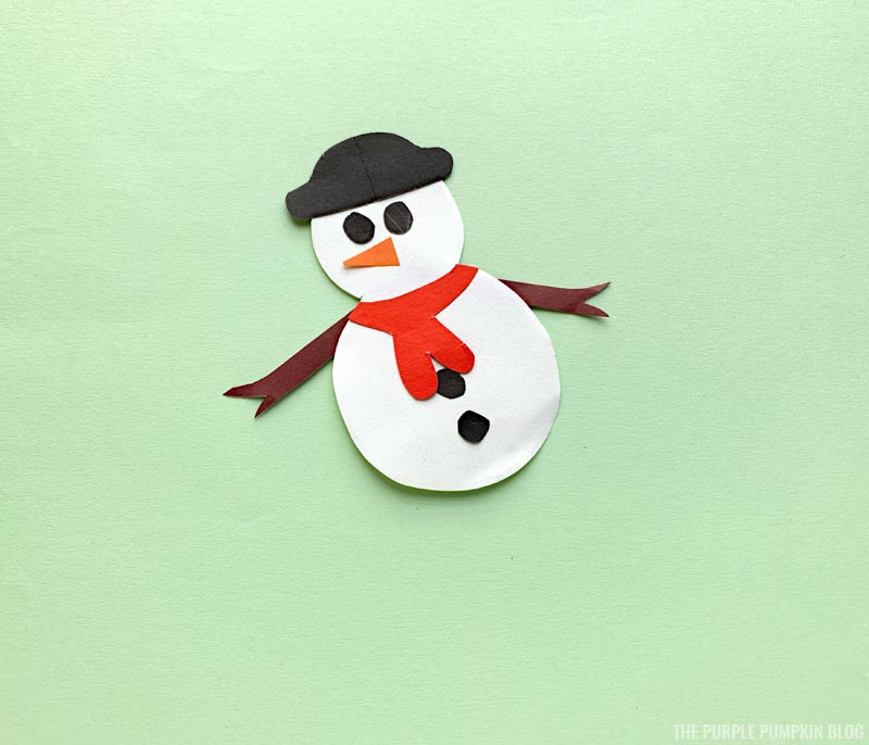 Adding buttons to snowman bookmark
