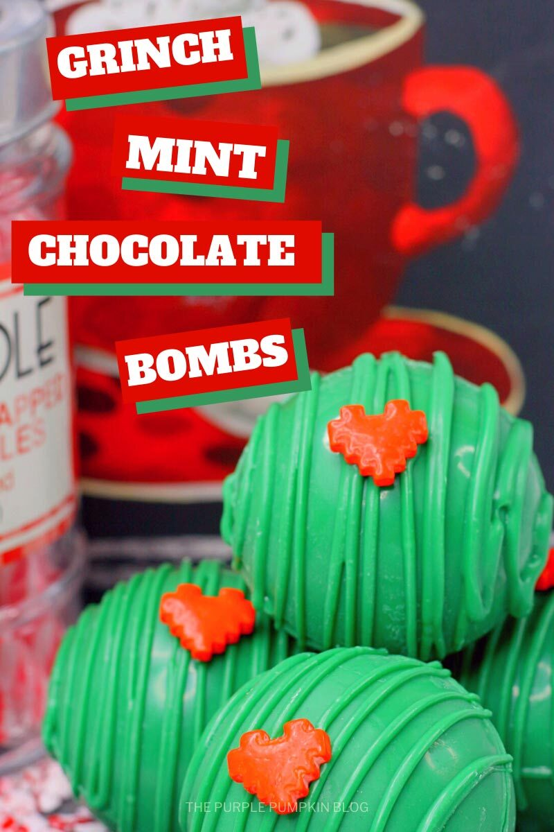 Awesome Grinch Mint Chocolate Bombs