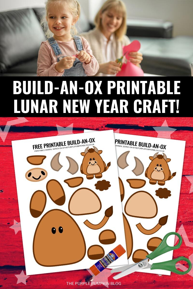 Build an Ox Printable Lunar New Year Craft