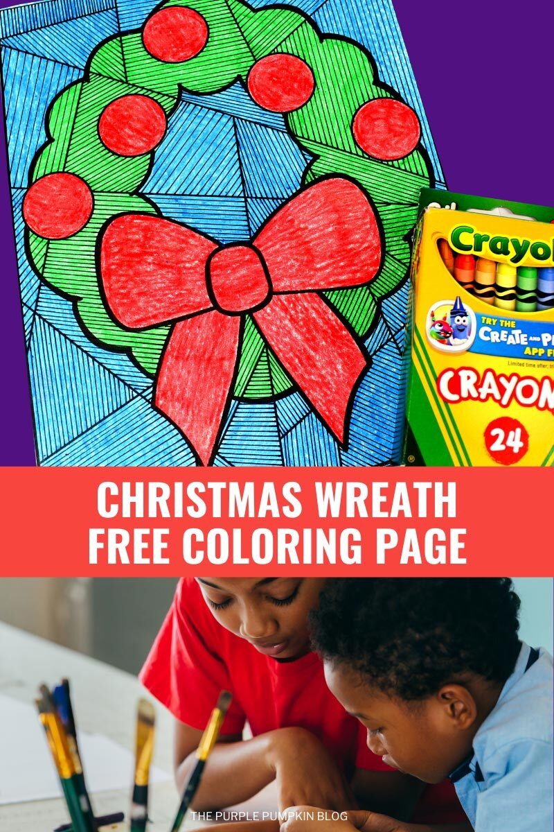 Christmas Free Coloring Page