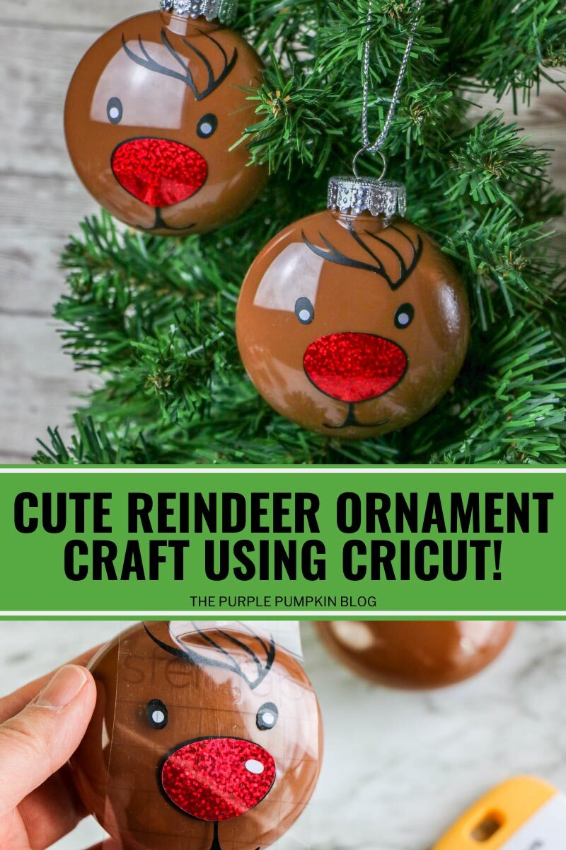 Rudolph the Red Nosed Reindeer! Fun Ornament Craft!