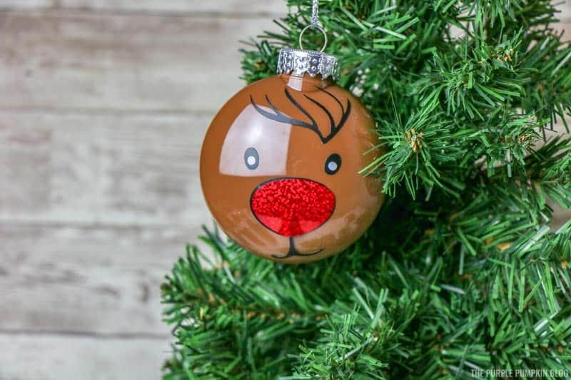 Finished Reindeer Ornament
