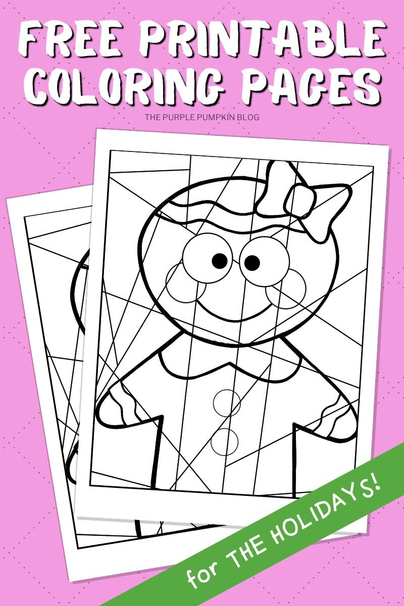 Free Printable Coloring Pages for The Holidays