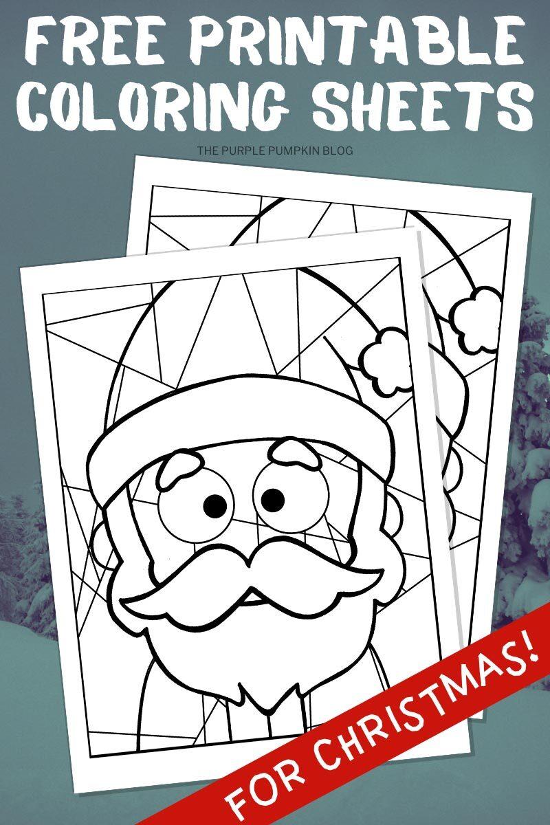 Free Printable Coloring Sheets for Christmas