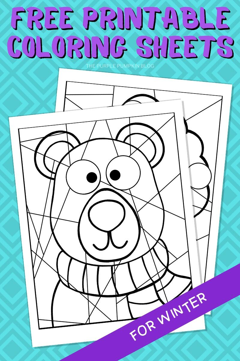 Free Printable Coloring Sheets for Winter