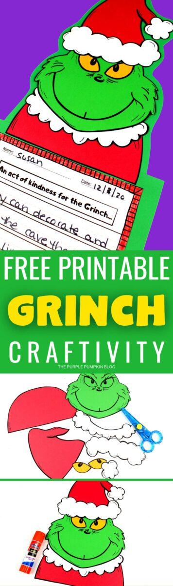 Free Printable Craftivity - Grinch