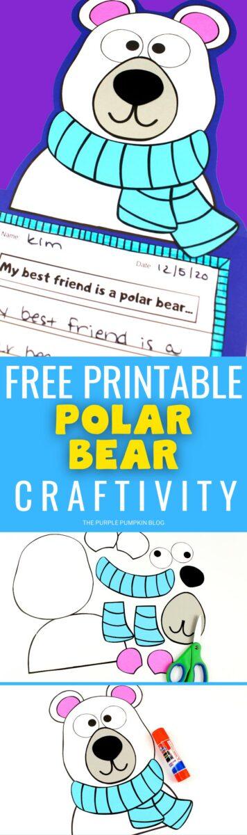 Free Printable Craftivity - Polar Bear