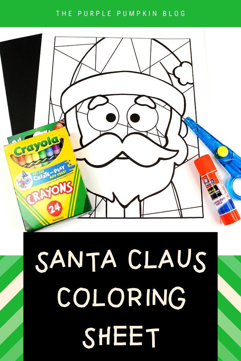 Free Santa Claus Coloring Sheet