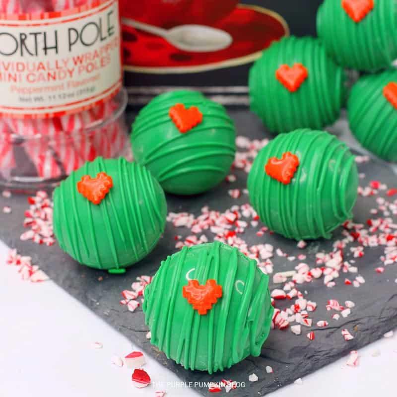 Grinch Hot Mint Chocolate Bomb