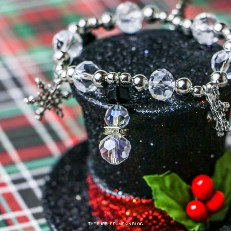 How to Make a Simple Winter Charm Bracelet