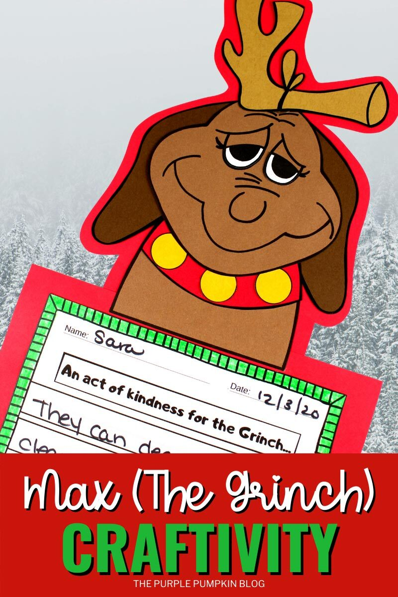 Max (The Grinch) Craftivity