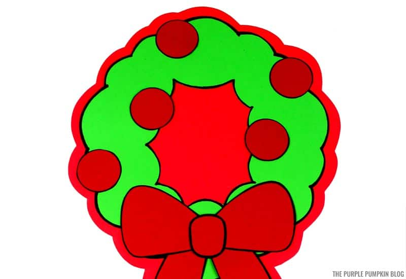 Christmas Wreath Craft & Writing Activity