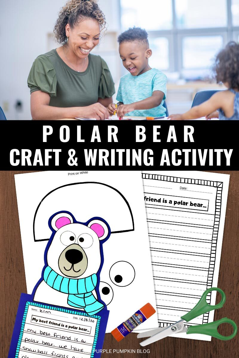 Polar Bear Craft & Writing Activity
