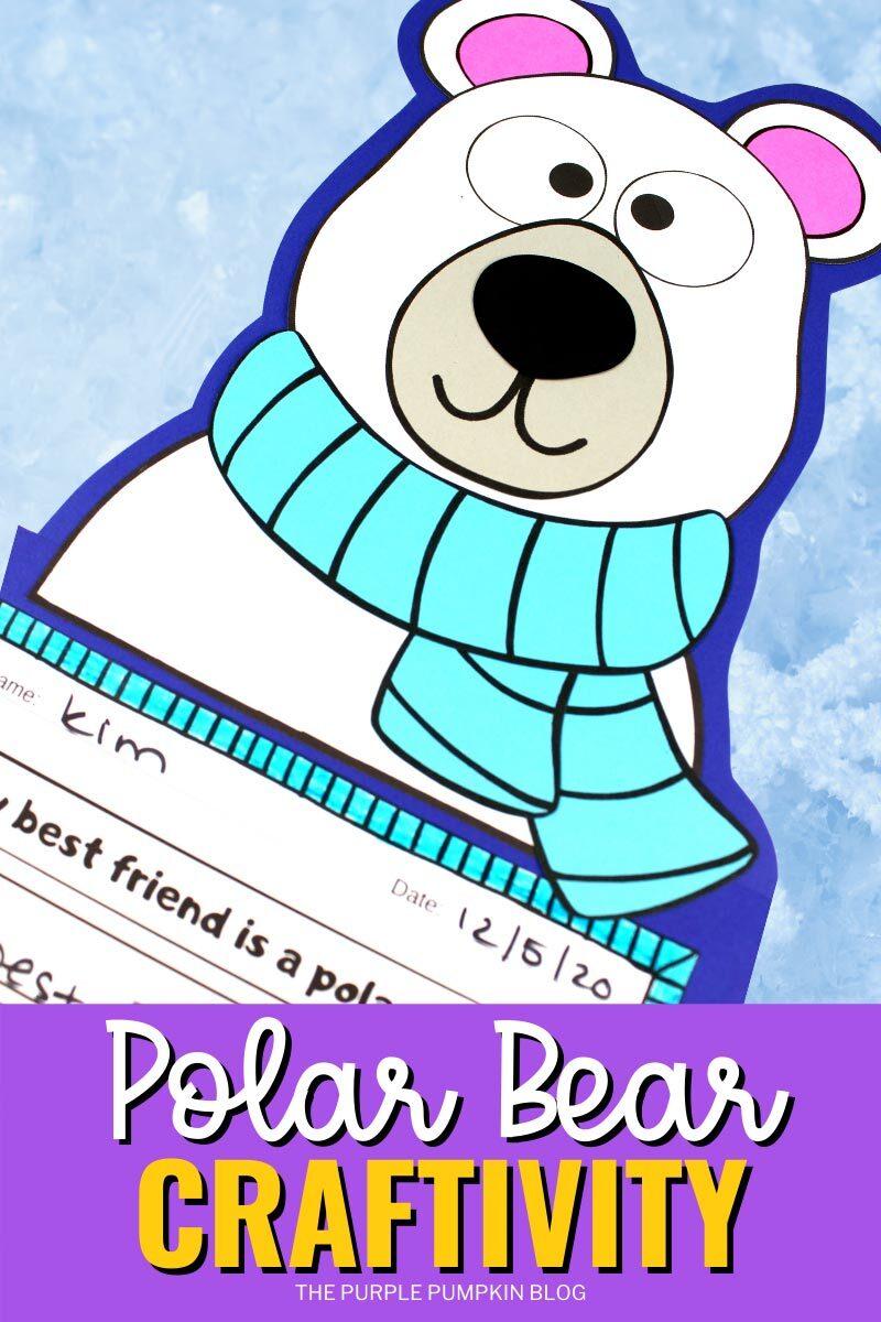 Free Printable Polar Bear Craftivity