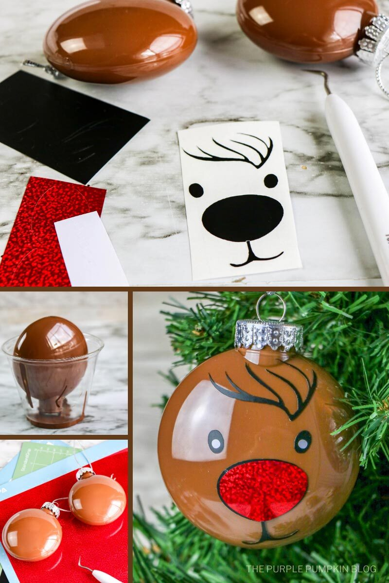 Reindeer Ornament Craft Tutorial