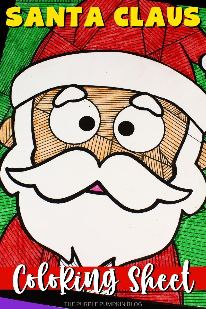 Santa Claus Coloring Sheet
