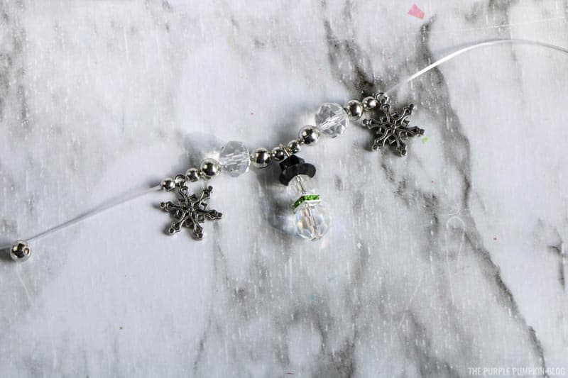 Snowman Charm Bracelet Pattern