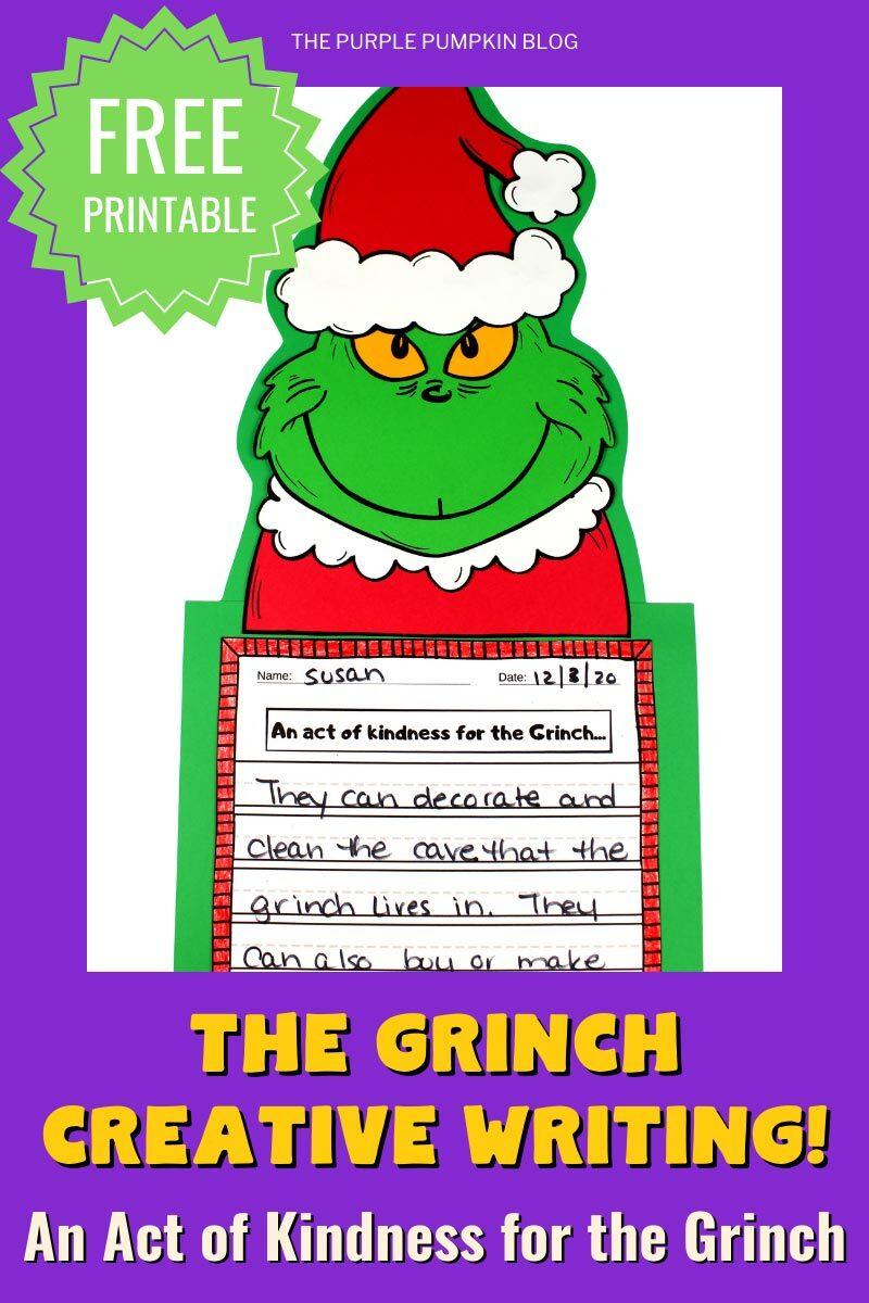 The Grinch Creative Writing Free Printable