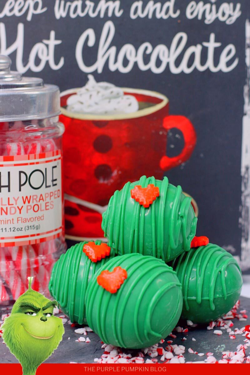 The Grinch Green Hot Chocolate Bombs