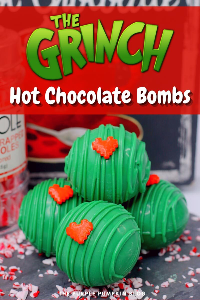 The Grinch Hot Chocolate Bombs