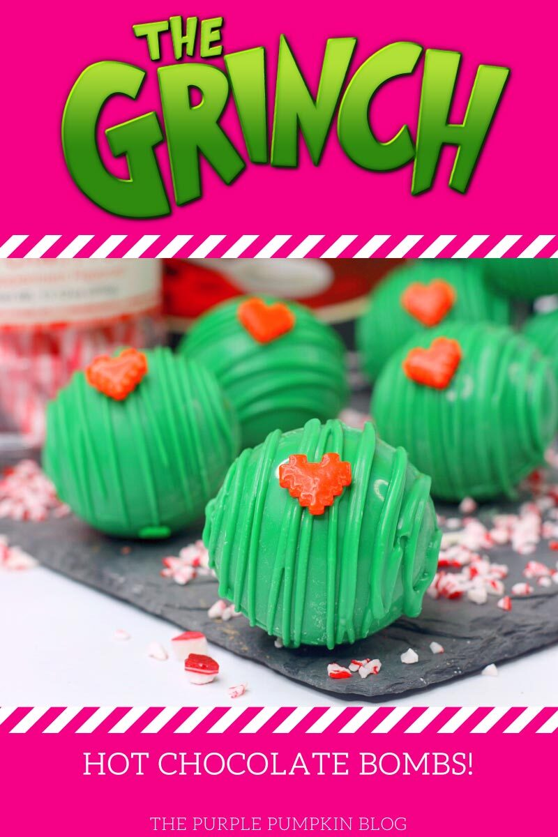 The Grinch Hot Chocolate Bombs Recipe