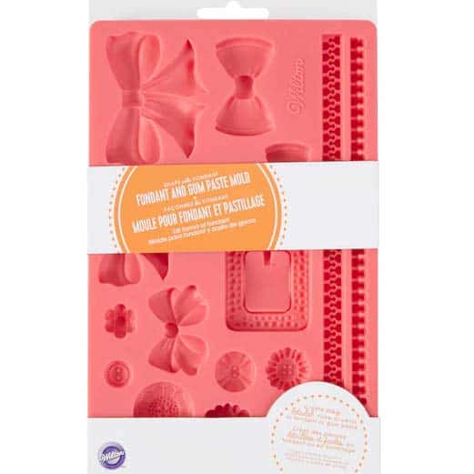 Wilton® Fondant and Gum Paste Mold, Bows & Buttons