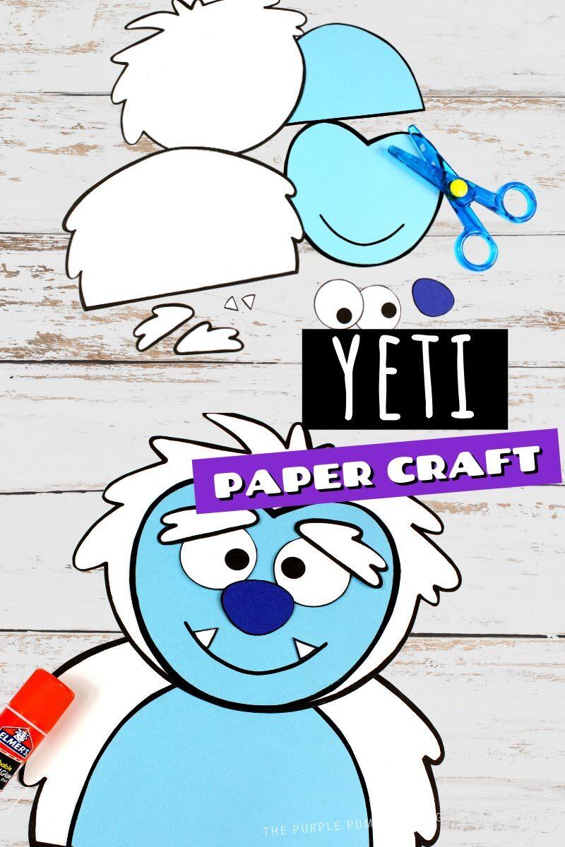 Yeti Paper Craft