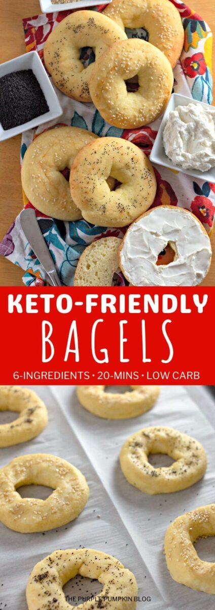 6-Ingredient Keto-Friendly Bagels in 20 Minutes!