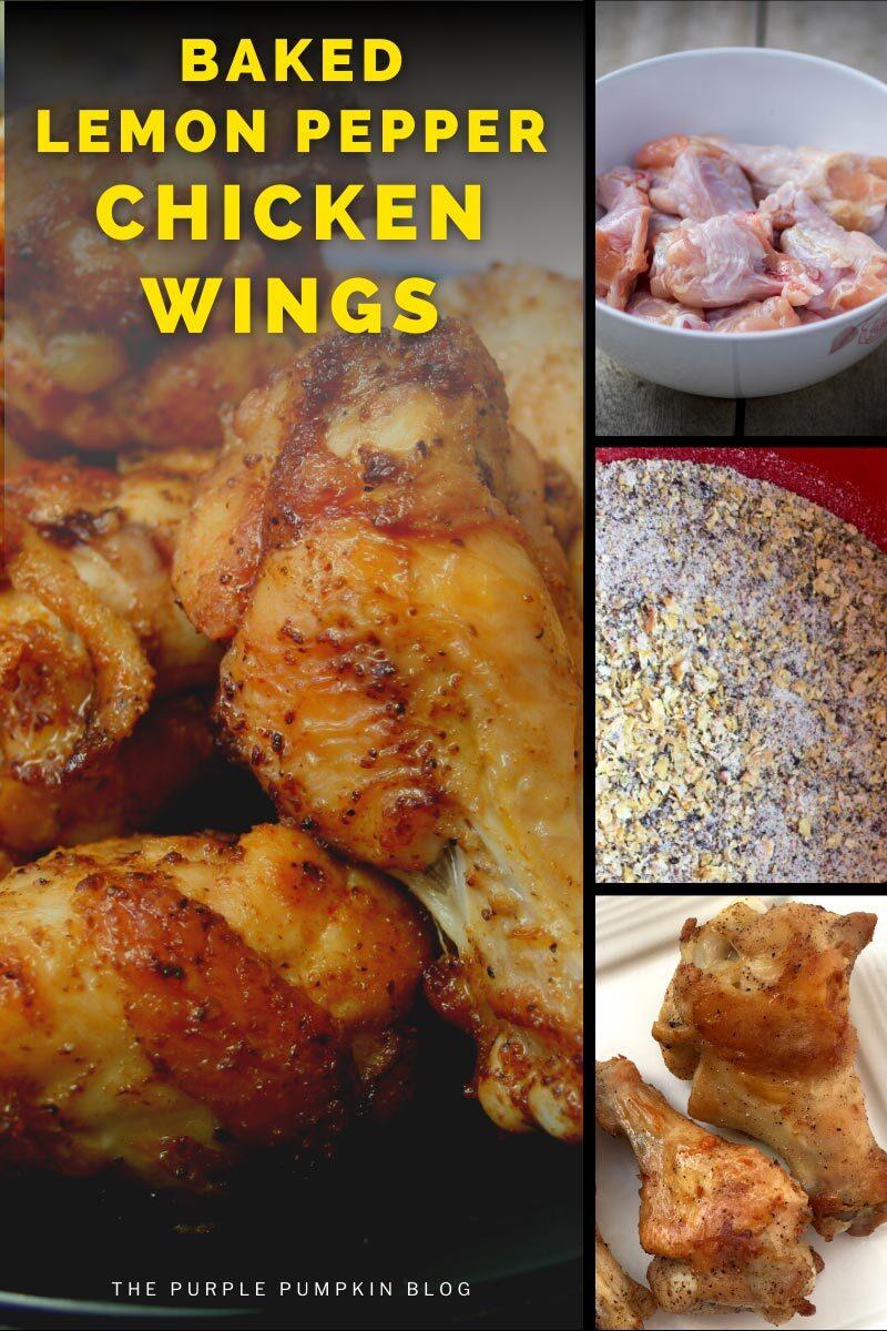 Baked Lemon Pepper Chicken Wings