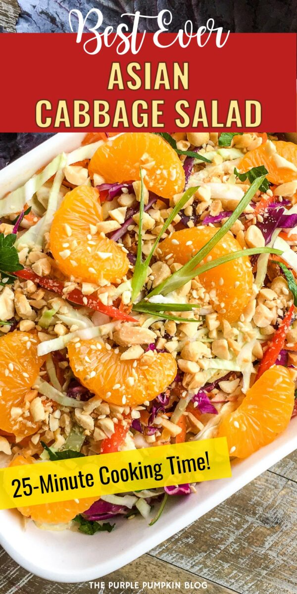 Best Ever Asian Cabbage Salad