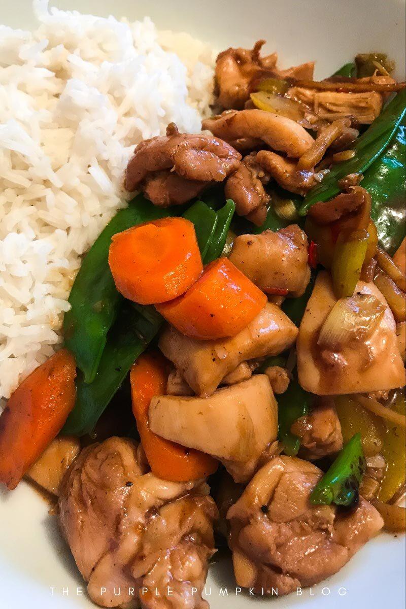 Chili Chicken Vegetable Stir-Fry