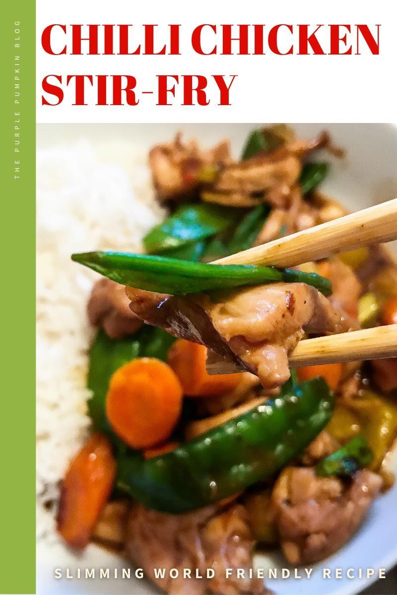 Chilli Chicken Stir-Fry for Slimming World