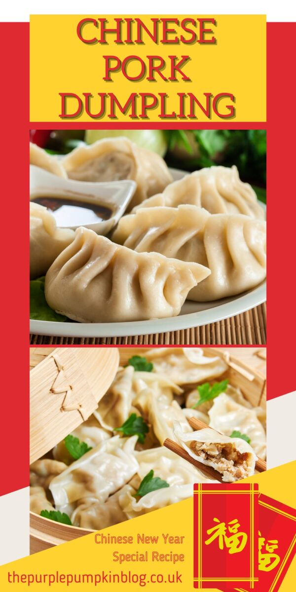Chinese Pork Dumpling for Chinse New Year