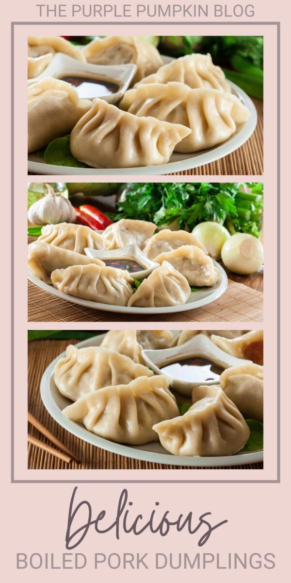 Delicious Boiled Pork Dumplings
