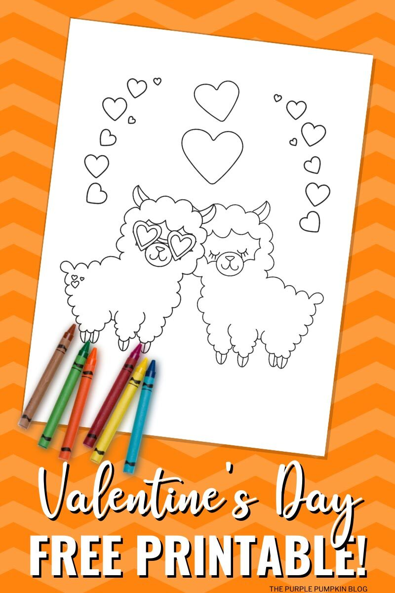 Free Printable Valentine S Day Animals Coloring Sheets