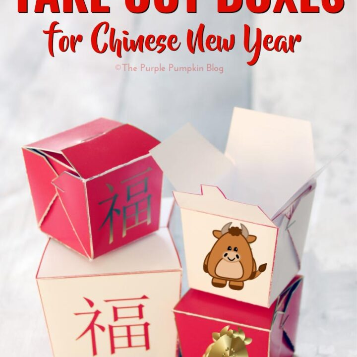 Chinese New Year Take Out Boxes