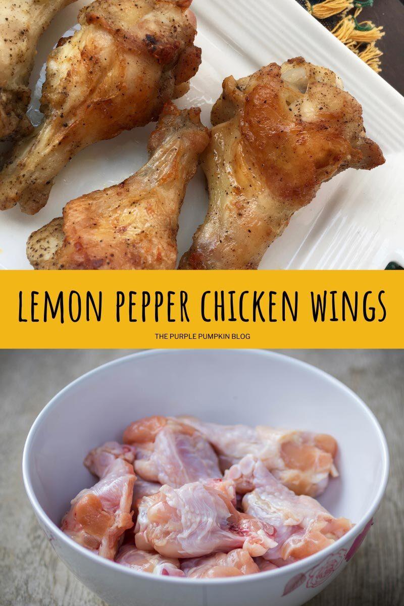 How to Make Lemon Pepper Chicken Wings