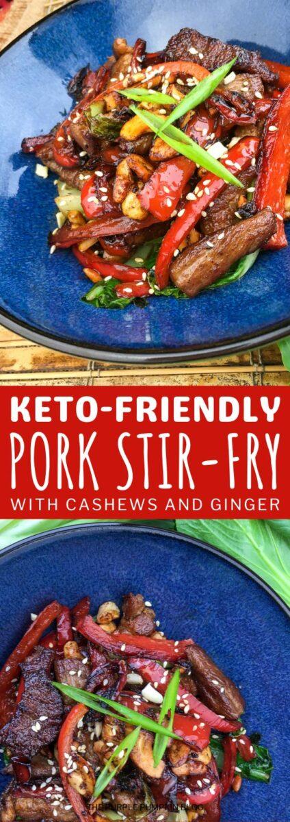 Keto-Friendly Pork Stir-Fry