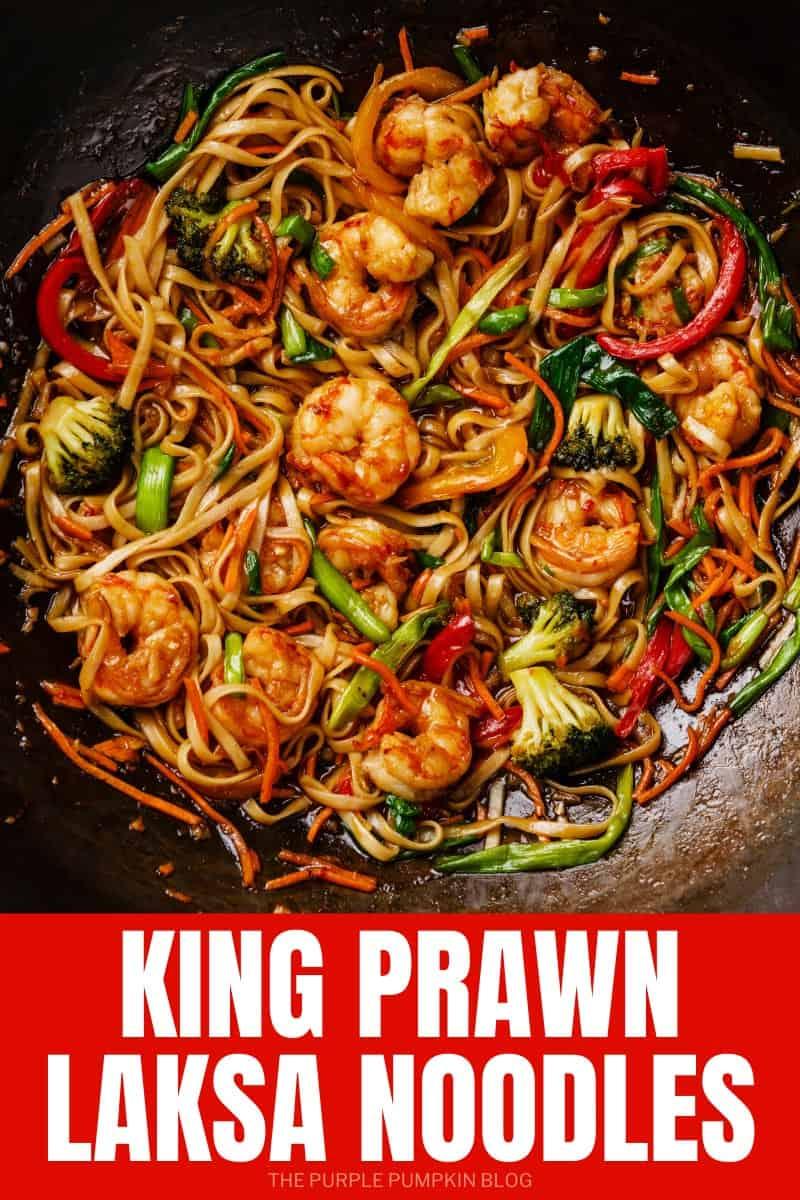 King Prawn Laksa Noodles Recipe