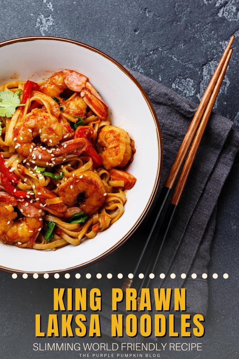 King Prawn Laksa Noodles - SW Recipe