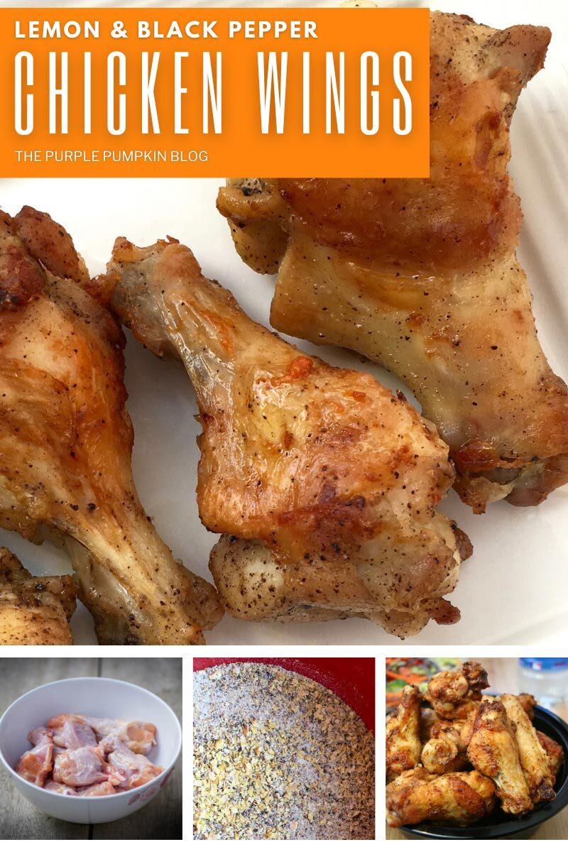 Lemon & Black Pepper Chicken Wings