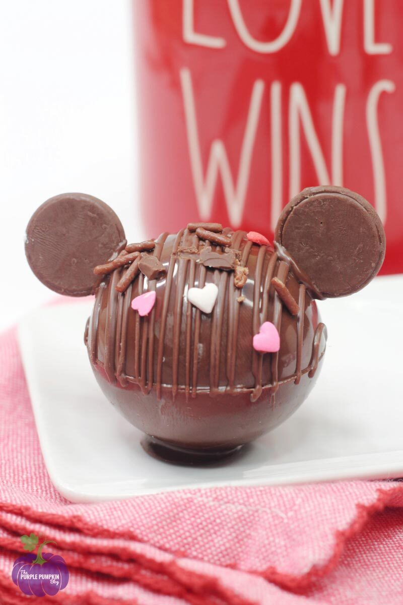 Mickey Mouse Hot Chocolate Bombs