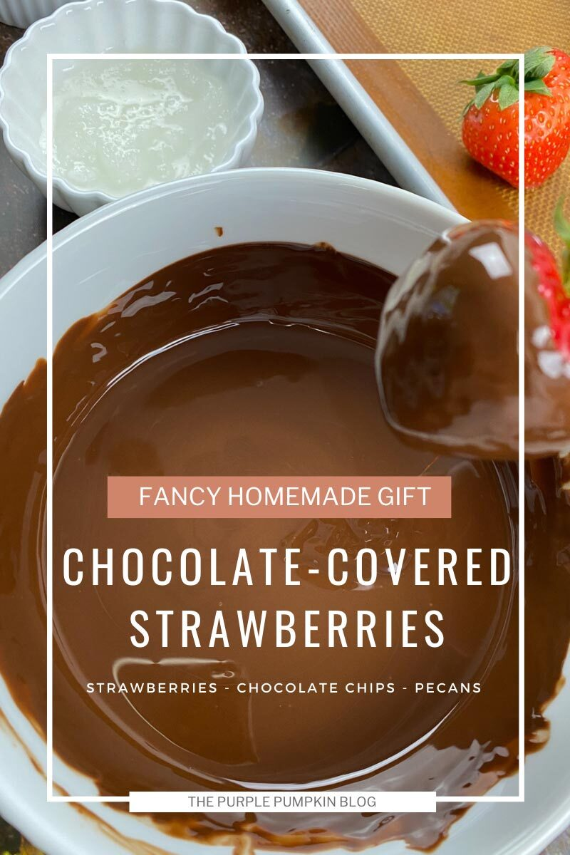 Recipe for Chocolate-Covered Strawberries