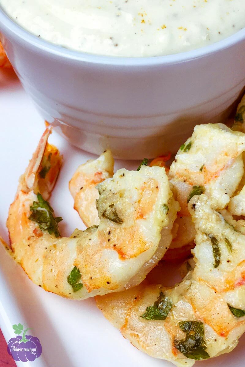 Recipe for Garlic Parmesan Shrimp Appetizer